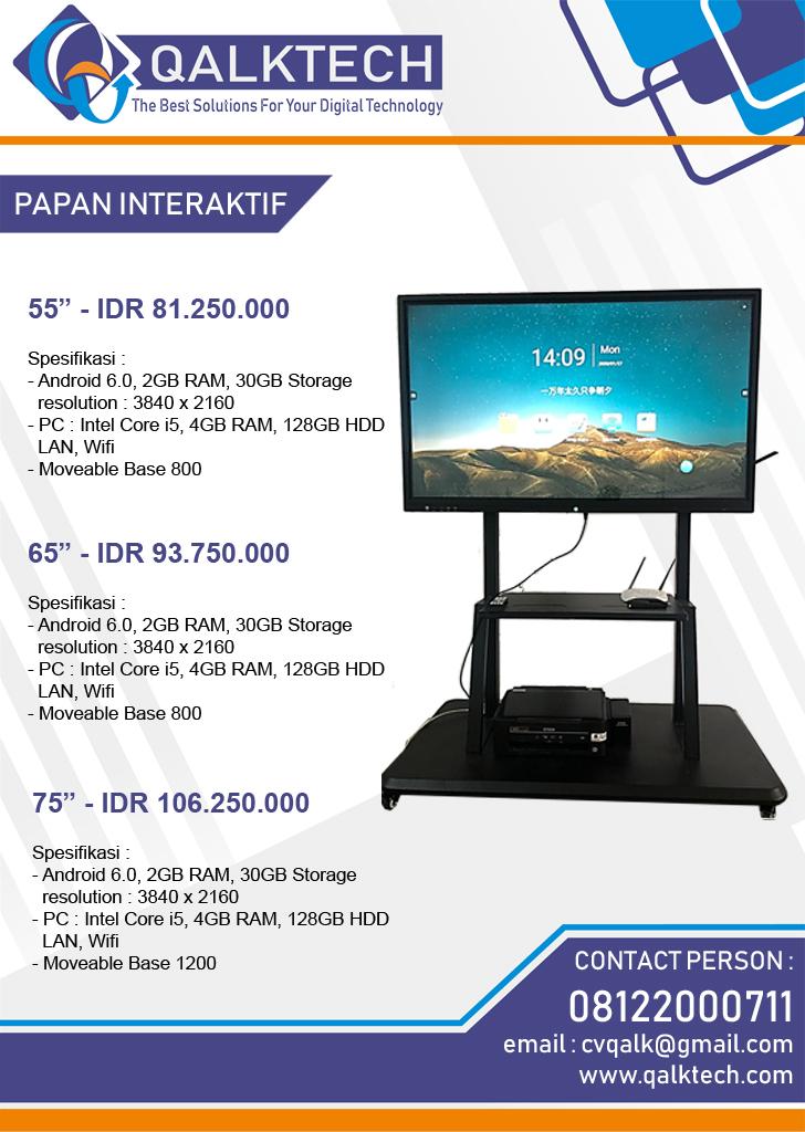 papan interaktif